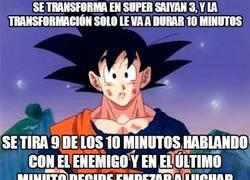 Enlace a Nadie cuestiona la grandeza de Goku, pero hay que decir que no planifica muy bien su tiempo