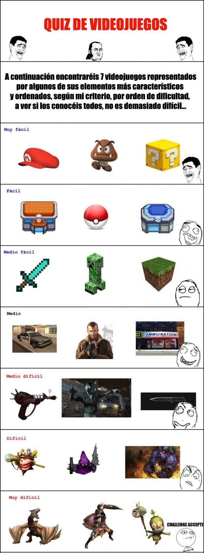 Friki - [Tema de la semana] Quiz de videojuegos