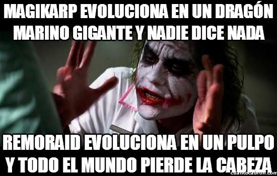 Joker - Doble rasero con las evoluciones
