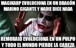 Enlace a Doble rasero con las evoluciones