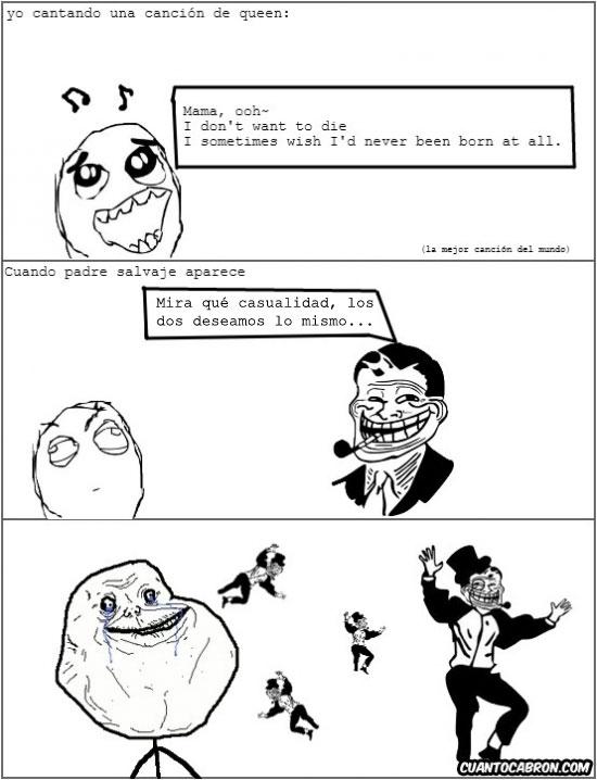 Freddie_mercury - Trolldad sabe inglés y lo utilizará en tu contra