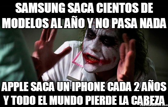 Joker - Samsung y Apple, la eterna lucha