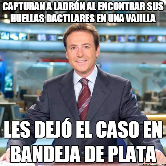 Meme_matias - Cuidado con las huellas en la escena del crimen