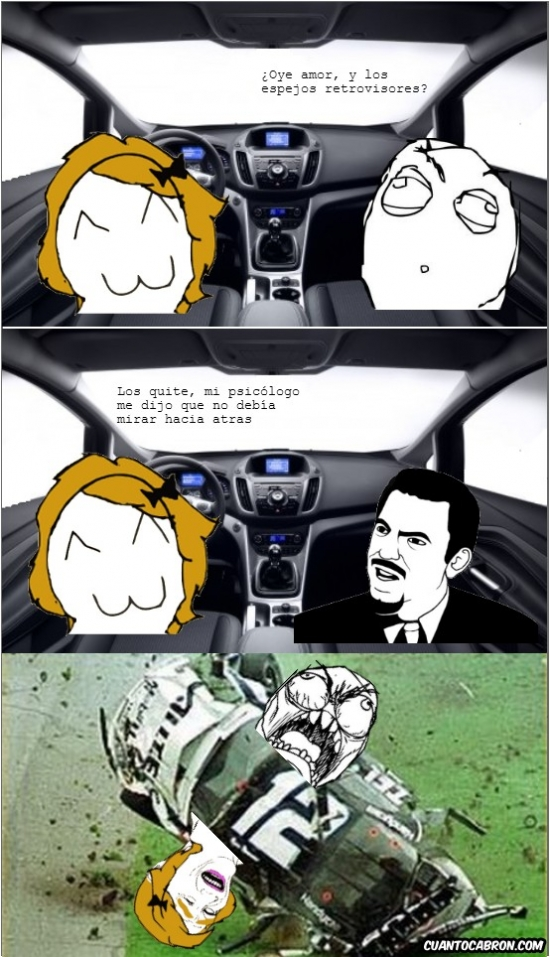 Otros - Y por eso nunca dejo conducir a mi novia