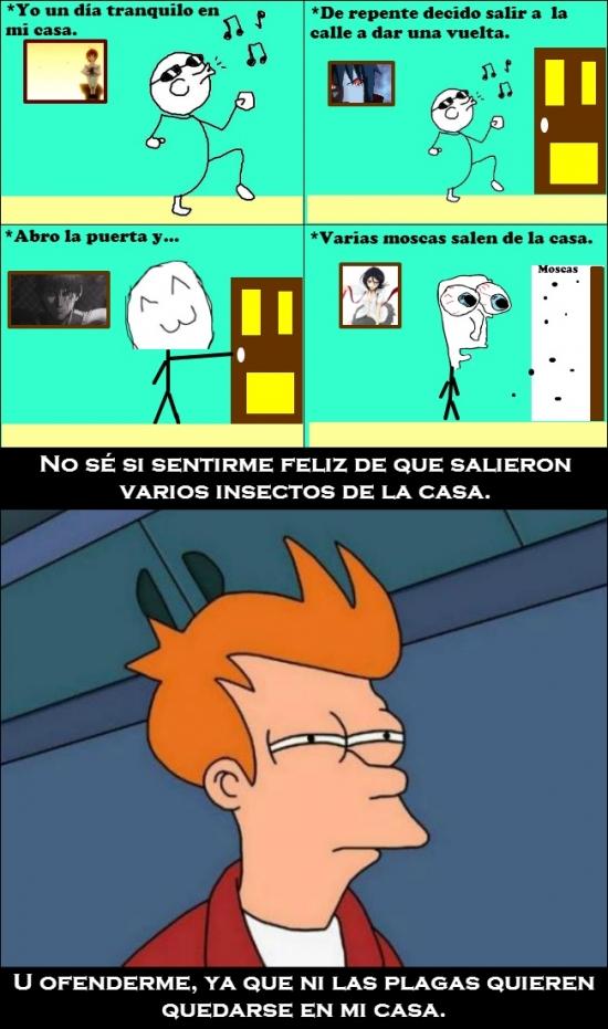 Fry - Si hasta las moscas huyen de ti...