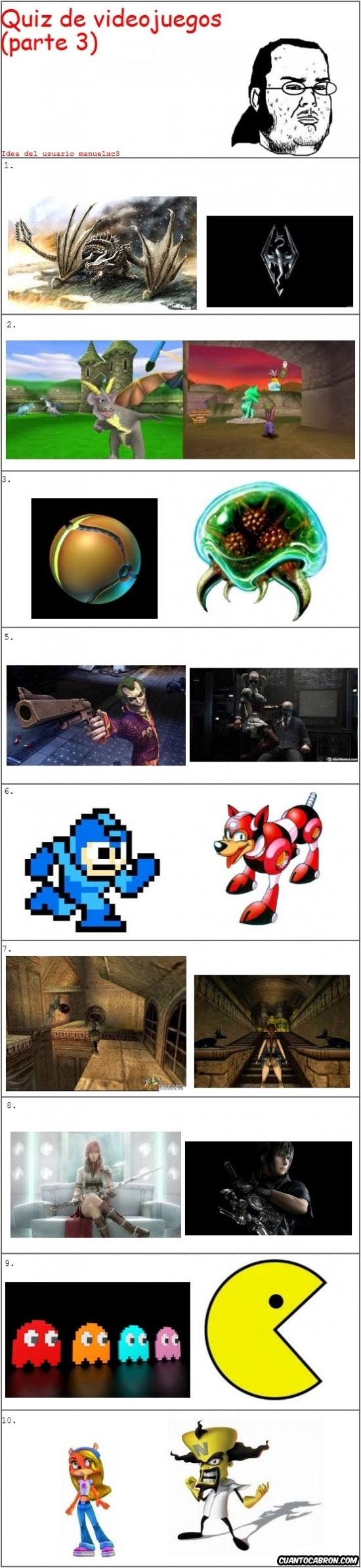 Friki - [Tema de la semana] Vamos con el último quiz de videojuegos de esta semana