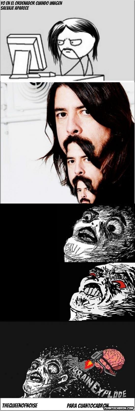 Inglip - Dave Grohl y sus pelos