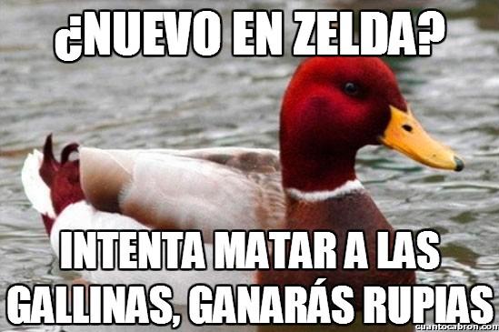 Pato_mal_consejero - Consejos gamers