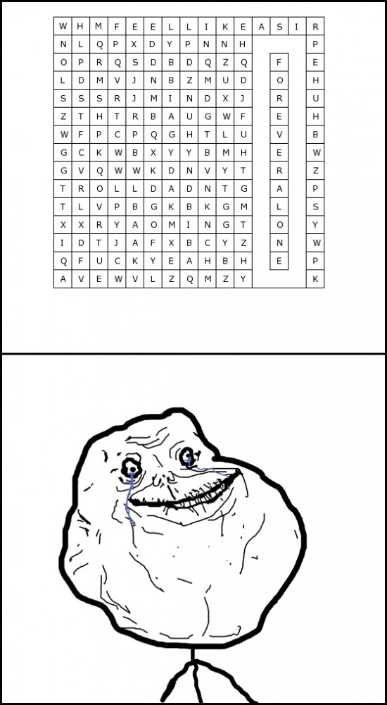 Forever_alone - Forever Letralone