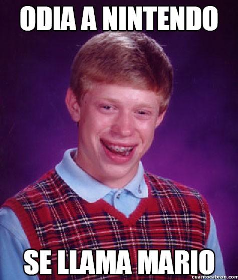 Bad_luck_brian - Lo peor para ser hater de Nintendo