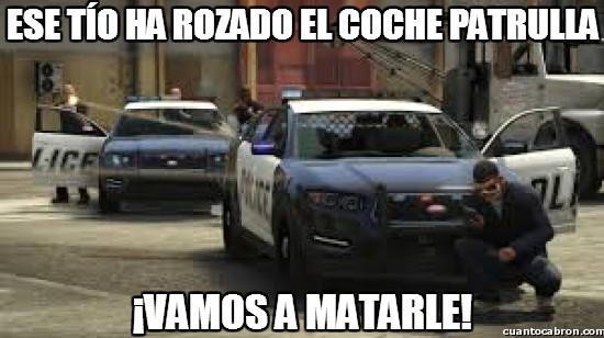 agentes,coche patrulla,gta,gta v,policía,policias