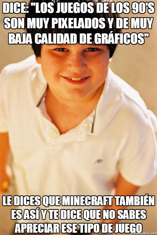 Nino_repelente - El doble rasero de los niños repelentes con los videojuegos