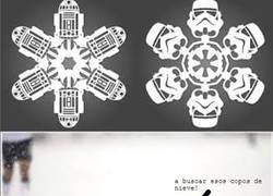 Enlace a [Tema de la semana] Copos de nieve muy frikis
