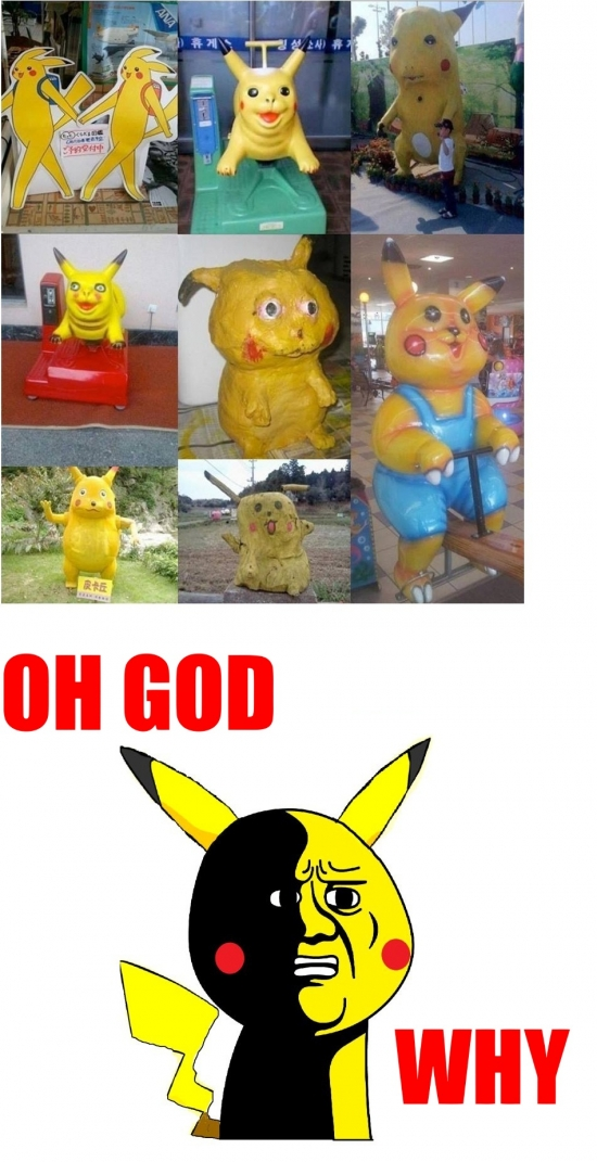 Oh_god_why - Pikachus feos everywhere
