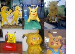 Enlace a Pikachus feos everywhere