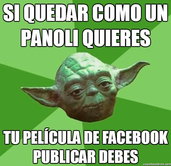 Consejos_yoda_da - Tu película de Facebook