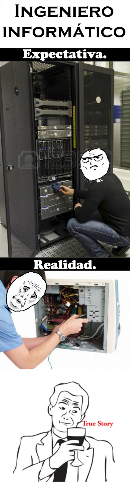 Okay - La realidad de los ingenieros informáticos