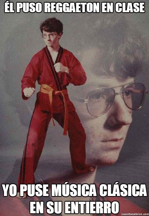 Karate_kyle - Con avisar al profesor habría bastado...