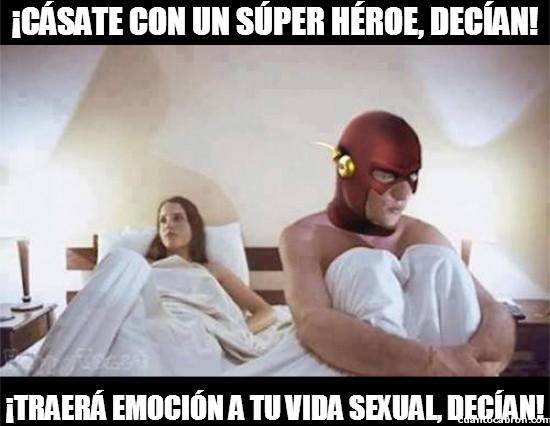 Meme_otros - Los superhéroes no siempre son la pareja ideal