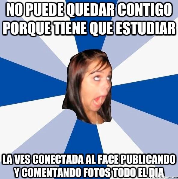 Amiga_facebook_molesta - Maldita mentirosa