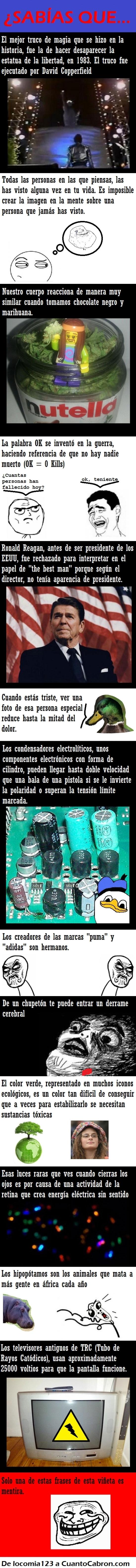 color verde,condensadores,curiosidades,increíble,luces,ronald reagan,tele,trc,voltios