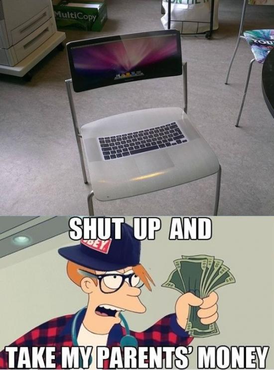 Fry - La silla para hipsters