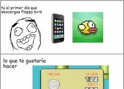 Enlace a ¡Maldito Flappy Bird!
