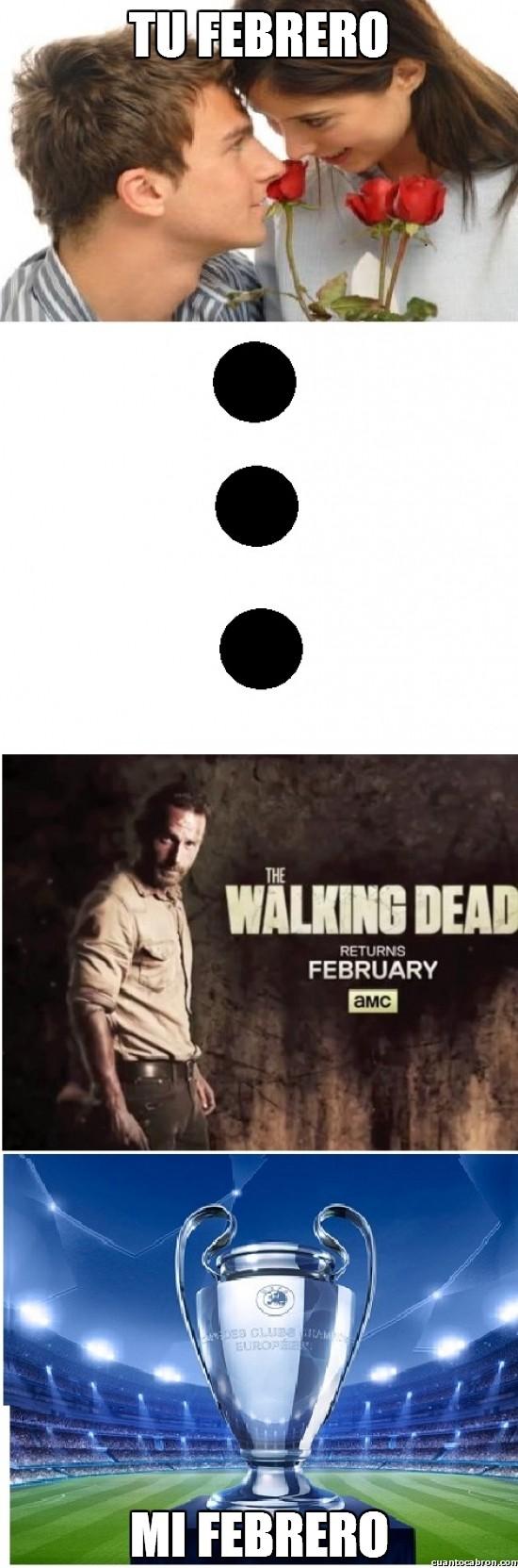 Meme_otros - Cada uno tiene su febrero a su manera