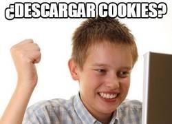 Enlace a Descargando cookies