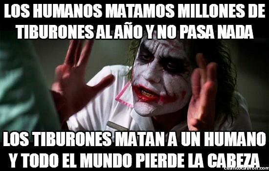 Joker - Tiburones y humanos