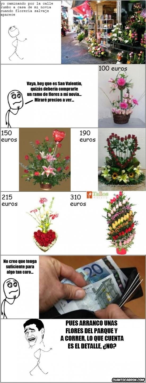 Yao - [Tema de la semana] Regalar flores en San Valentín no es la mejor idea