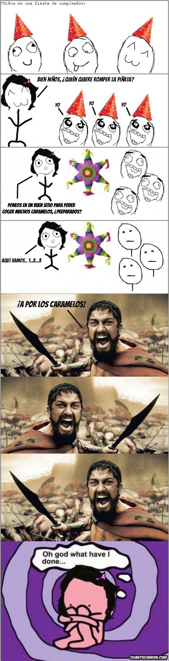 Oh_god_what_have_i_done - Las piñatas las carga el diablo