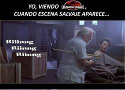 Enlace a La obviedad en Jurassic Park