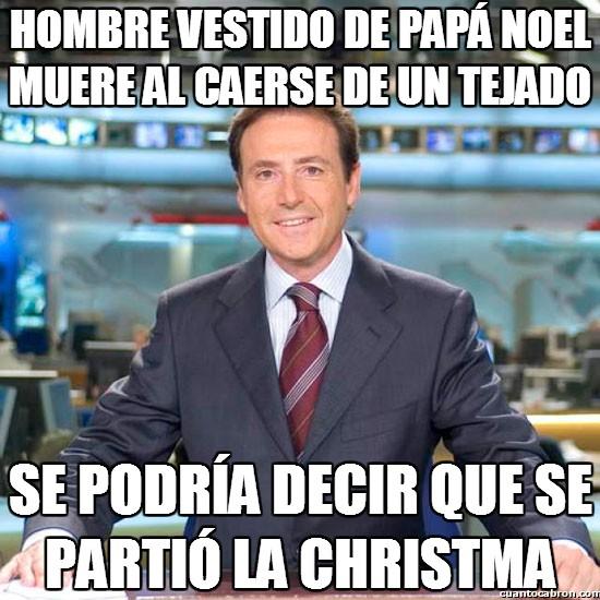 Meme_matias - La mala suerte de Papá Noel