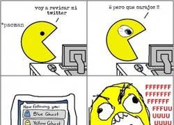 Enlace a La dura vida en las redes sociales de Pac-man
