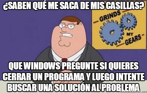 Peter_griffin - Windows, tú eres el problema