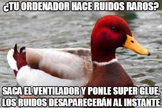Pato_mal_consejero - Los ruiditos del ordenador