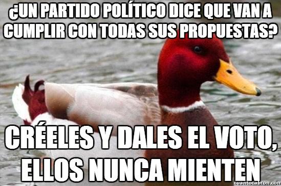 Pato_mal_consejero - El pato mal consejero podría ser asesor de Rajoy