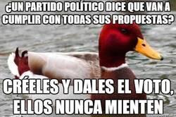 Enlace a El pato mal consejero podría ser asesor de Rajoy