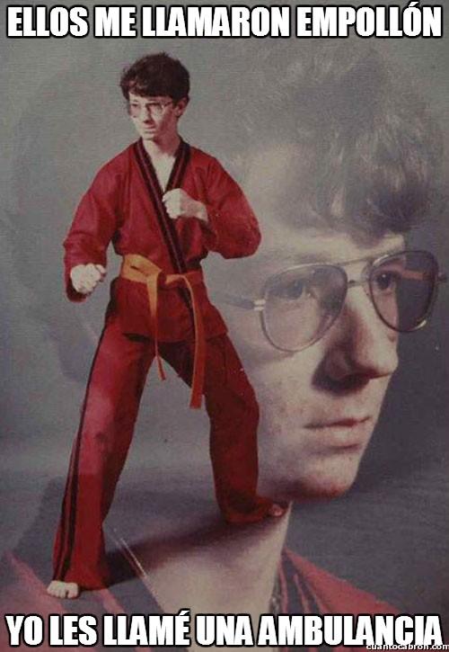 Karate_kyle - Mejor no le llames nada a Kyle