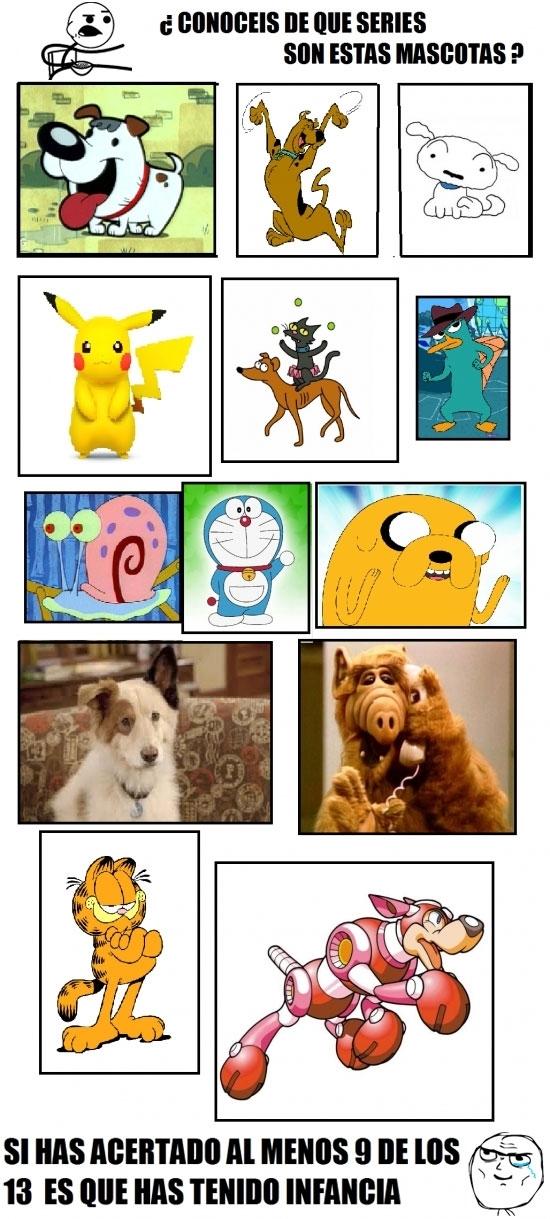 animales,dibujos animados,ficción,quiz,series,temamascotas