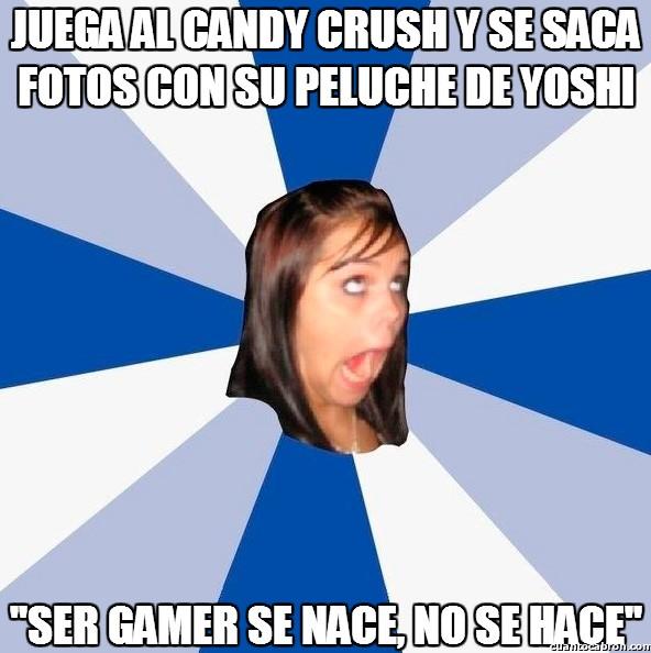 Amiga_facebook_molesta - Una gamer de verdad de la buena