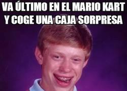 Enlace a Mala suerte hasta en Mario Kart
