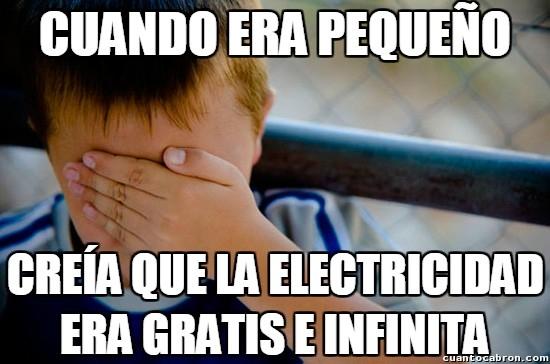 Electricidad,factura,gratis,infinita,robar,robo