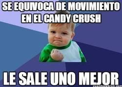 Enlace a Suerte en el Candy Crush