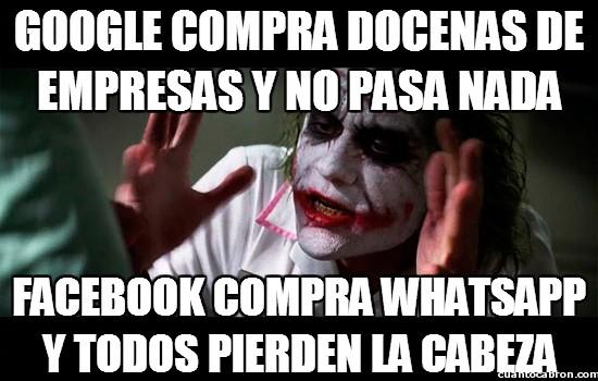Joker - Facebook comprando cosas