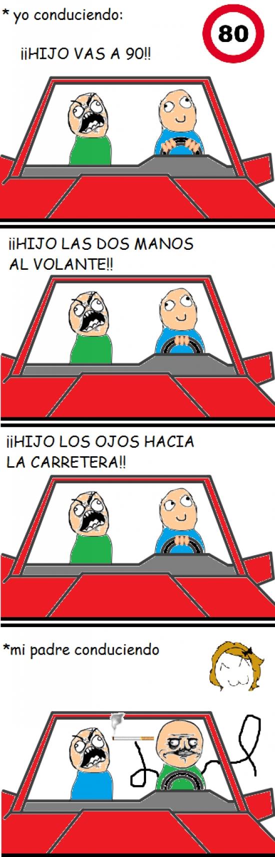 Ffffuuuuuuuuuu - Para esos padres pesados cuando estás conduciendo