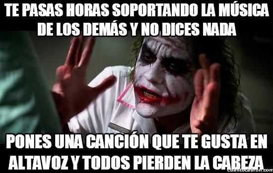 Joker - ¿Qué pasa, yo no tengo derecho o qué?