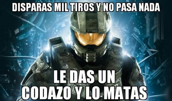Meme_otros - Los poderosos codazos del Halo