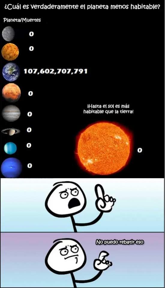 Otros - ¿Planeta habitable?